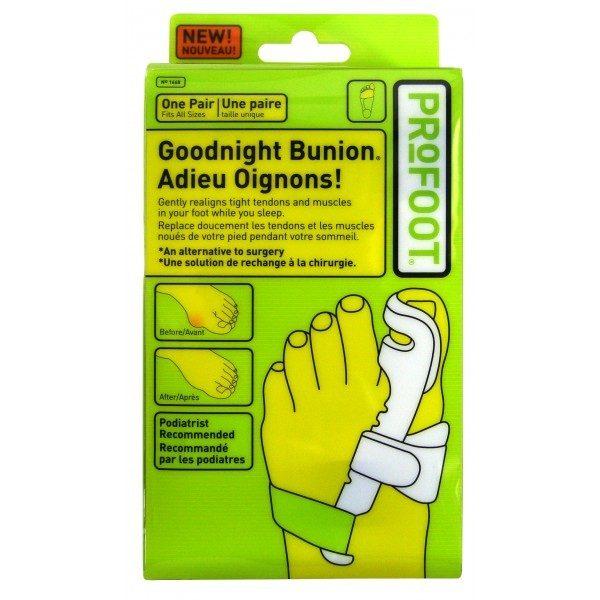 Set 2 bucati corector pentru monturi si pentru eliminarea inflamatiilor Profoot Goodnight Bunion 0