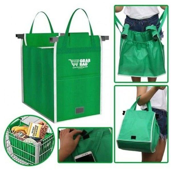 Set 2 sacose ideale pentru cumparaturi,Grab Bag [0]