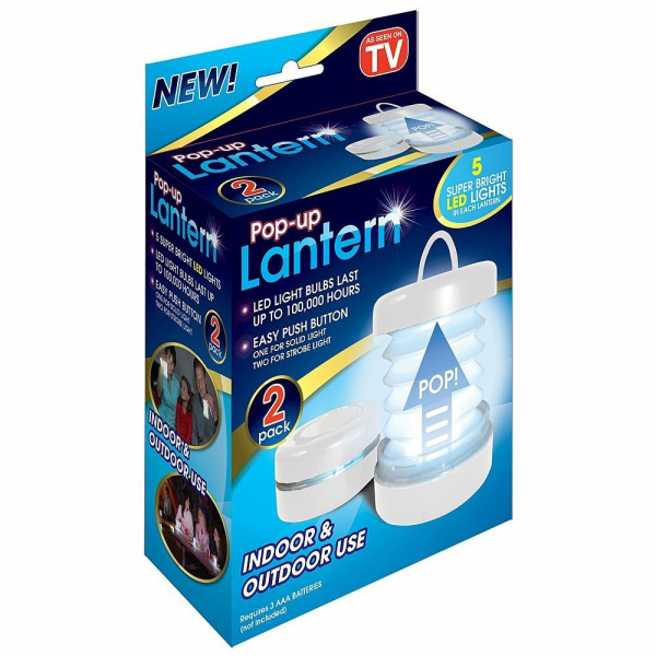 Set de 4 felinare multifunctionale Pop-up Lantern [1]