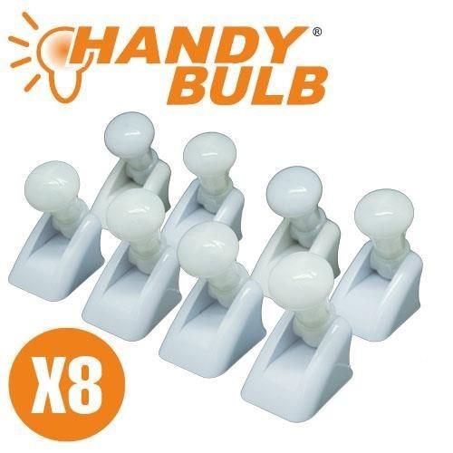 Set de 8 becuri mini Handy Bulb LED fara fir cu intrerupator 0