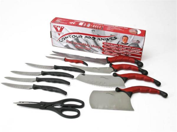 Set de cutite pentru bucatarie premium Contour Pro Knives 1