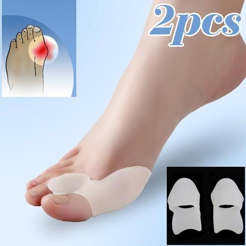 Set de pernute din silicon pentru protectia degetelor mari de la picioare 0