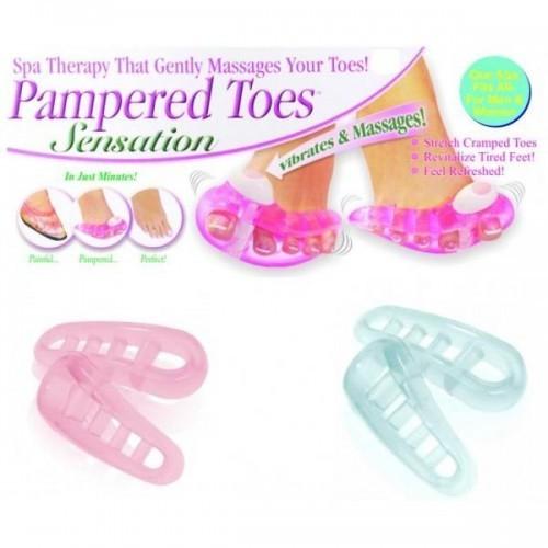 Set masaj si ingrijire a picioarelor Pampered Toes Ped Egg 0