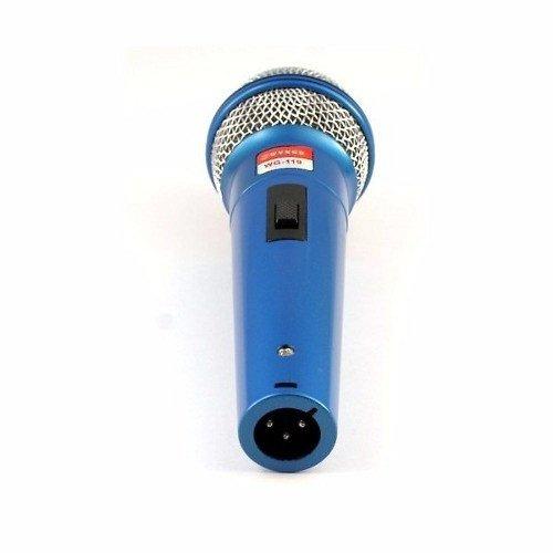 Set de 2 microfoane dinamice cu fir, 600 ohmi premium WG-119 5