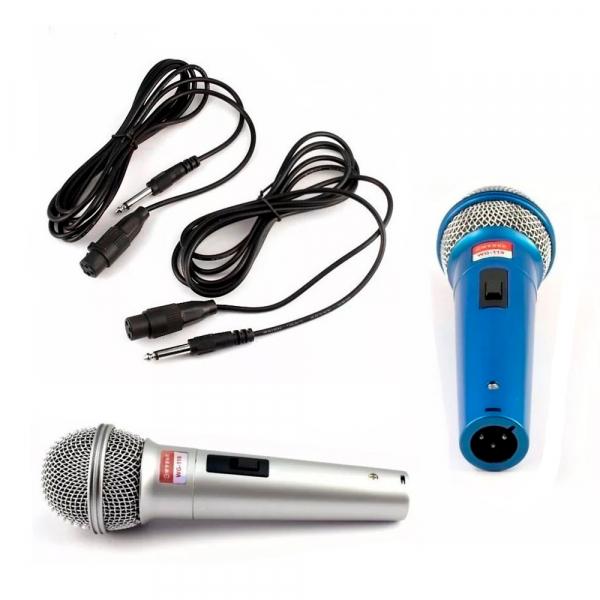 Set de 2 microfoane dinamice cu fir, 600 ohmi premium WG-119 2
