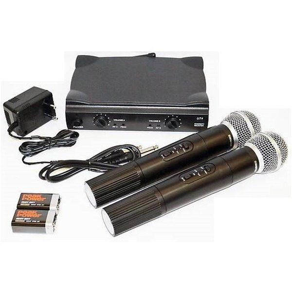 Set microfoane fara fir profesionale Shure UHF SM58 0