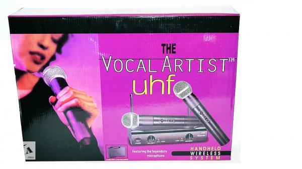 Set microfoane fara fir profesionale Shure UHF SM58 2