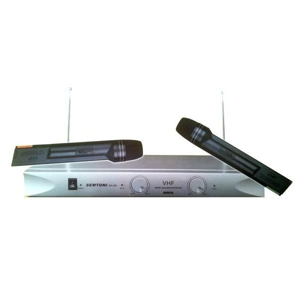 Set microfoane profesionale Semtoni cu receiver SH-80 0
