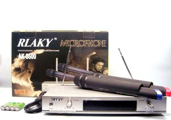 Set microfoane profesionale wireless RLAKY AK-8600 0