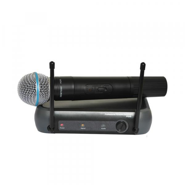 Set microfon wireless cu receiver inclus Semtoni PGX8 0