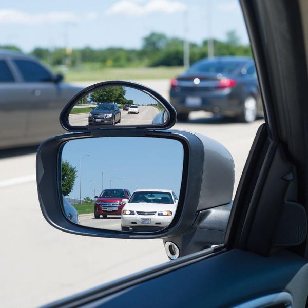 Set 2 oglinzi auto auxiliare reglabile cu prindere exterioara [1]