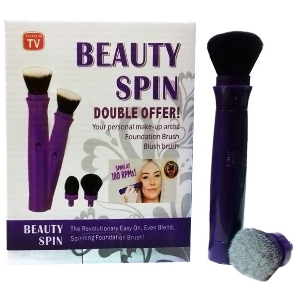 Set pensula de make up electrica rotativa Beauty Spin 0