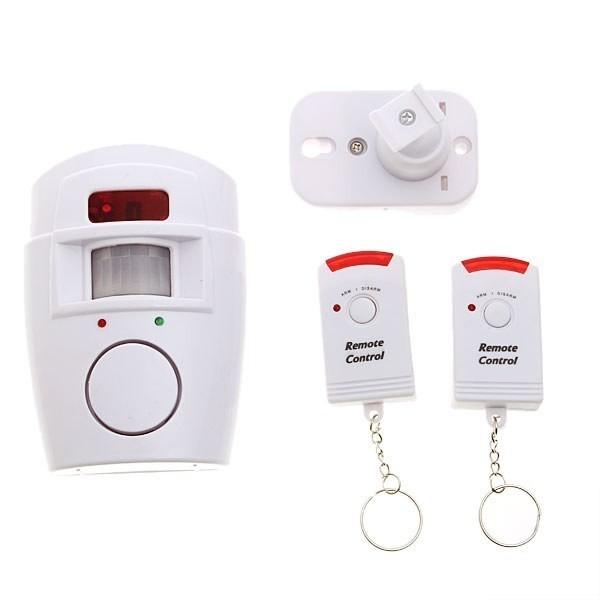 Sistem alarma cu senzor de miscare si 2 telecomenzi 0