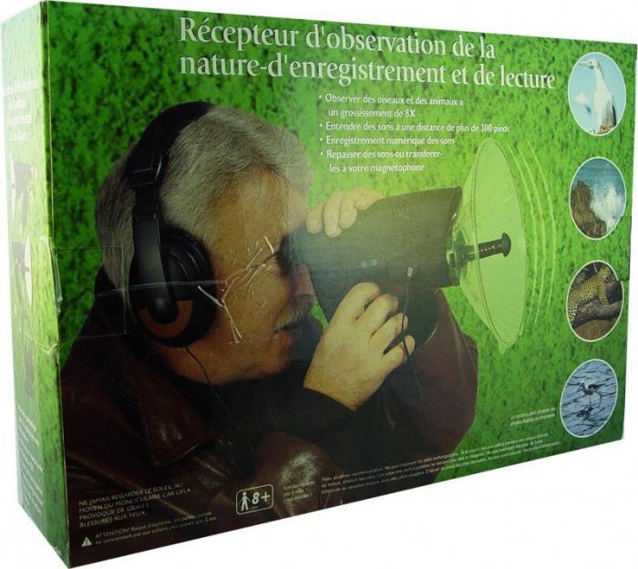 Sistem pentru observarea naturii Nature Observer, cu casti incluse [4]