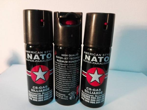 Spray paralizant pentru autoaparare NATO 60 ml 0