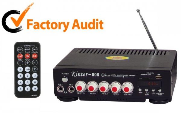 Statia de amplificare Radio Fm-Karaoke Kinter 008 0