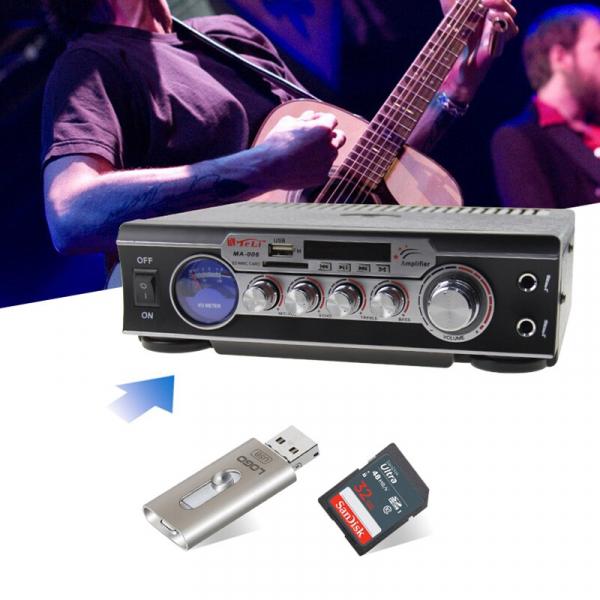 Statie audio pentru Karaoke MA-006 cu adaptor SD card si USB 2