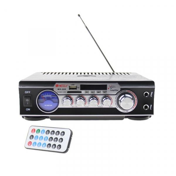 Statie audio pentru Karaoke MA-006 cu adaptor SD card si USB 4