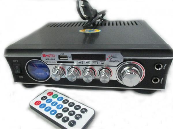 Statie audio pentru Karaoke MA-006 cu adaptor SD card si USB 0