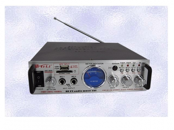 Statie de amplificare karaoke SD/USB Player AC/DC AK-905 0