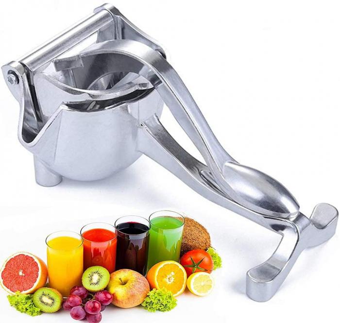 Storcator manual de citrice, presa manuala din aluminiu [1]