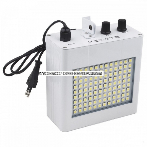 Stroboscop disco cu 108 LED-uri SMD 0