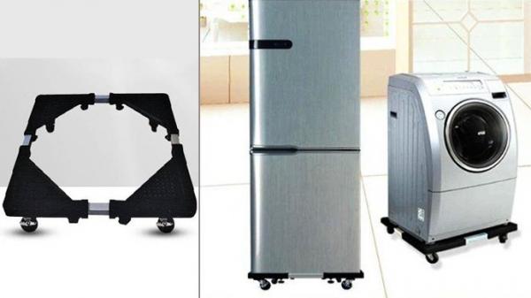 Suport mobil pentru frigider si masina de spalat cu roti [0]