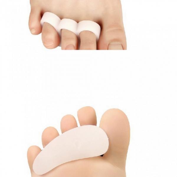 Talonete Footmate pentru protectie 3 degete din silicon 0