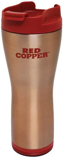 Termos pentru cafea cu Smart Grip si interior inox Red Copper [0]