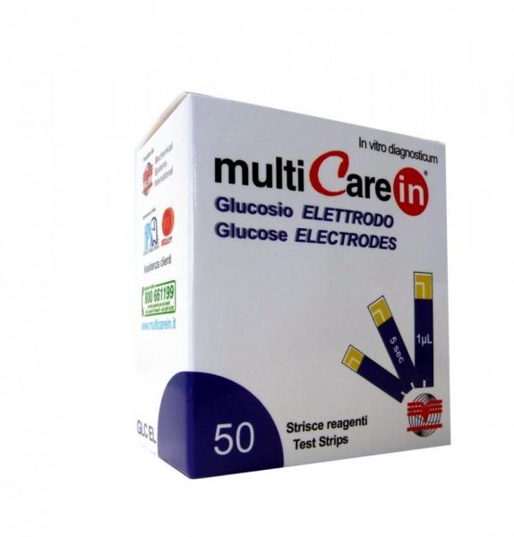 Teste glicemie MultiCarein 50 buc 1