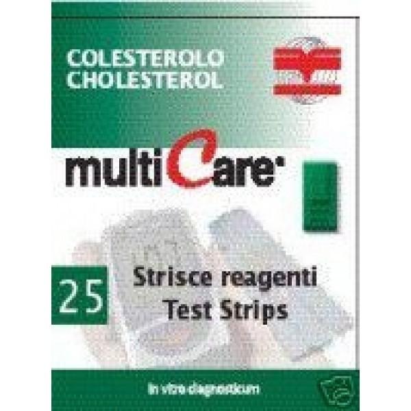 Teste pentru colesterol MULTICARE-IN 25 0