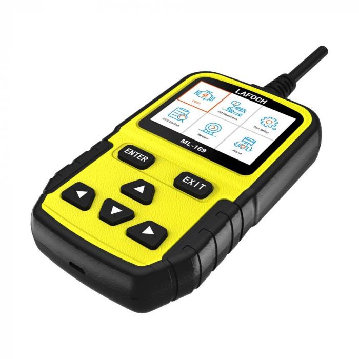 Tester auto profesional universal OBD2 Lafoch ML-169, pentru diagnoza auto [1]