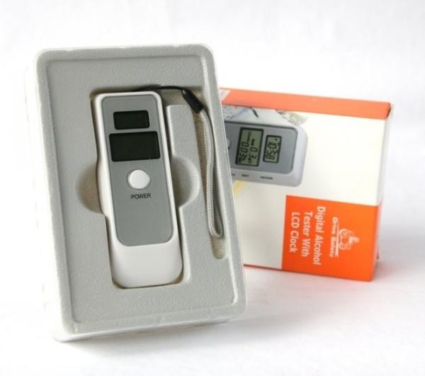 Tester de alcoolemie digital 0
