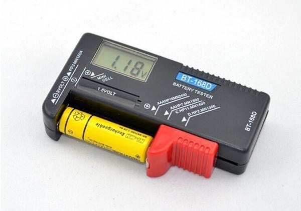 Tester pentru baterii digital BT-168D, display digital 1