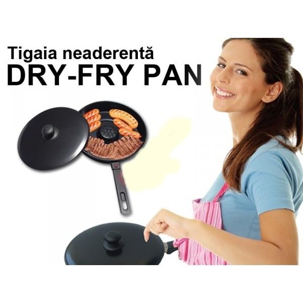 Tigaie Dry Cooker neaderenta,Dry Fry Pan [1]