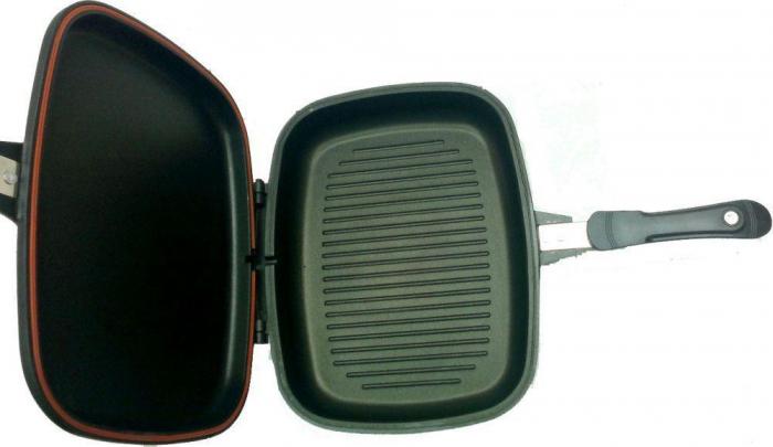 Tigaie teflonata tip grill doubletta 36 cm Original Magic [2]