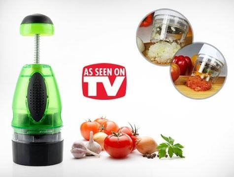 Tocator manual pentru fructe si legume Slap Chop 0