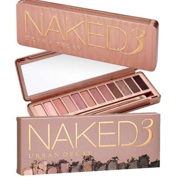 Trusa machiaj profesionala pentru makeup cu 12 nuante Naked 3 0