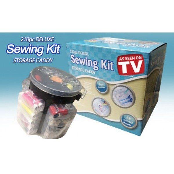 Trusa pentru cusut Sewing Kit Deluxe 210 de piese 0