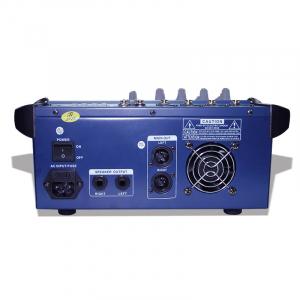 Mixer profesional cu amplificare 200W si 4 canale PMX402D-USB2
