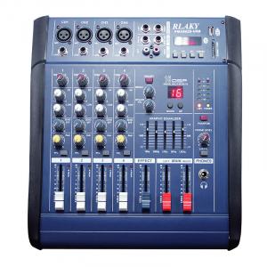 Mixer profesional cu amplificare 200W si 4 canale PMX402D-USB4