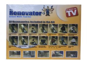 Aparat de slefuit si set accesorii pentru renovare cu 37 piese Renovator8