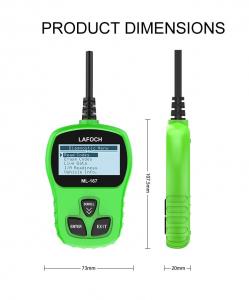 Tester diagnoza cu interfata auto profesional si universal OBD2 Lafoch ML-167 [4]