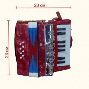 Acordeon pentru copii 17 clape si 8 butoane de bass UC-104 [2]