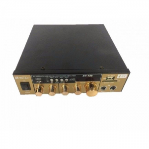 Amplificator Audio cu Bluetooth, USB, Radio si Telecomanda BT-1583
