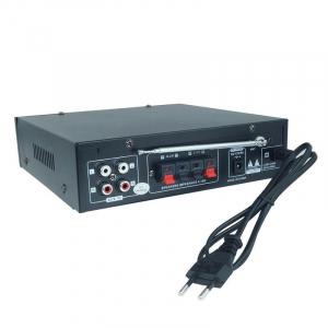 Amplificator Audio cu Bluetooth, USB, Radio si Telecomanda BT-1581