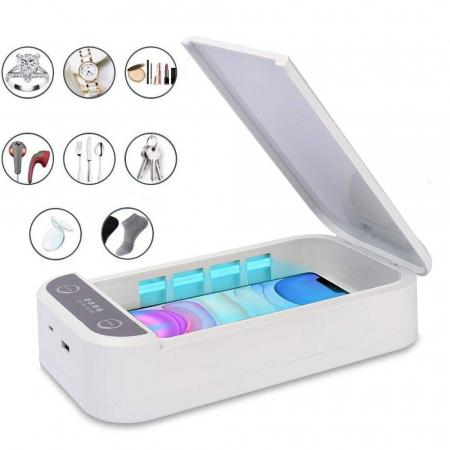 Sterilizator UVC pentru telefon sau obiecte mici cu putere 9W si functie aromaterapie [0]