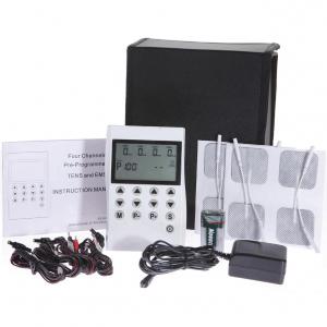 Aparat de electrostimulare profesional TENS si EMS de 4 canale si 50 programe0