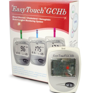 Aparat de masurat glicemie colesterol si hemoglobina Easy Touch GCH1