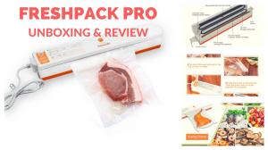 Aparat electric de sigilat si vidat pungi Fresh Pack Pro + Pungi Cadou4